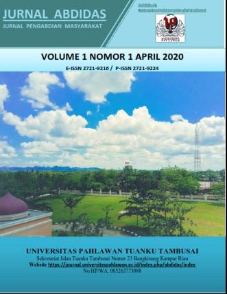 View Vol. 1 No. 1 (2020): Vol 1 No 1 April Pages 1-22